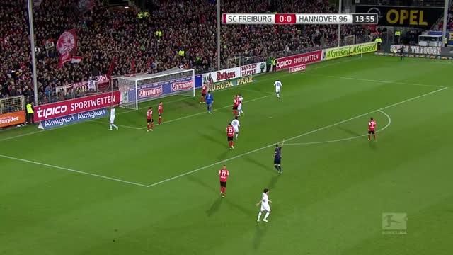 Friburgo-Hannover 96 2-2