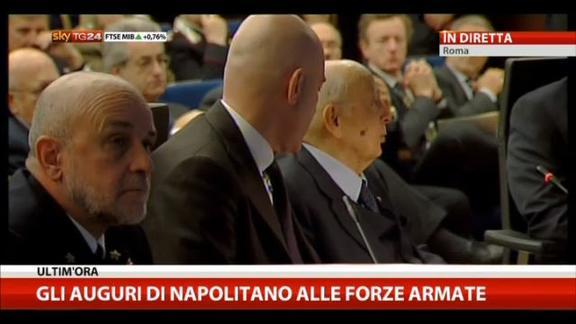 Marò in India, Napolitano: scarsa volontà politica