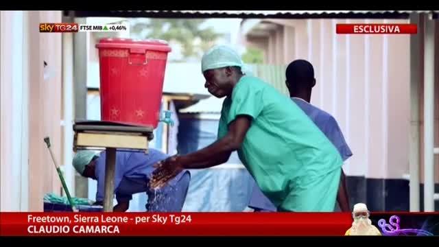 Sky TG24 nei luoghi colpiti dal virus Ebola