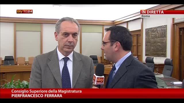 CSM, intervista a Giovanni Legnini