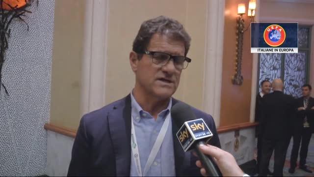 """Fabio Capello: """"In Italia diamo via tutti i nostri talenti"""""""