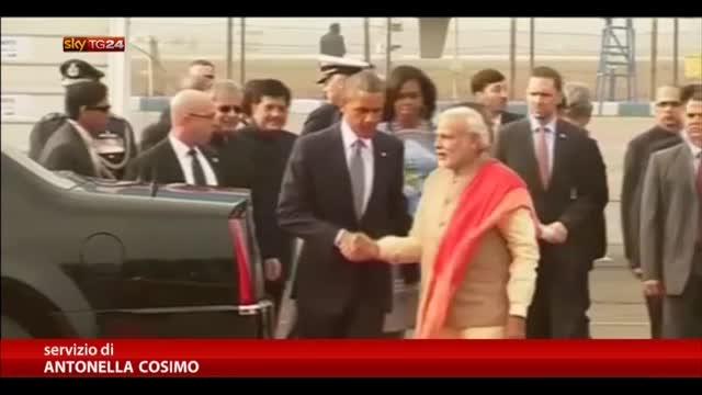 Obama in India, a New Delhi per una visita di tre giorni