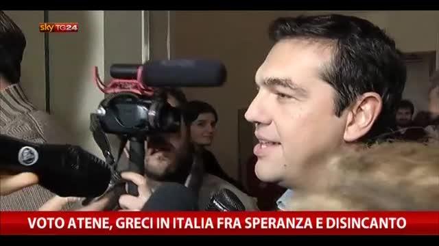 Voto Atene, greci in Italia fra speranza e disincanto