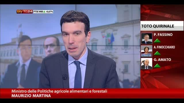 Martina: Prodi candidato di alto profilo