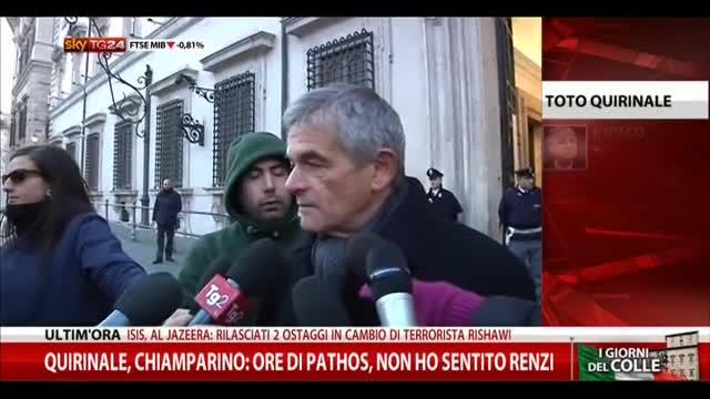 """Quirinale, Chiamparino: """"Ore di pathos"""""""