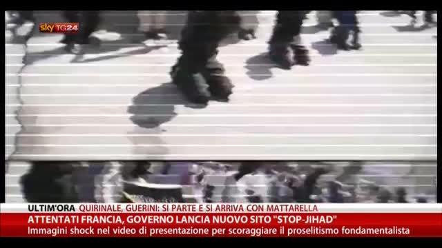 """Attentati Francia, il Governo lancia nuovo sito """"Stop-Jihad"""""""