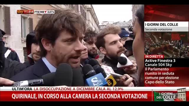 """Civati: """"Mattarella è anche nostro candidato"""""""