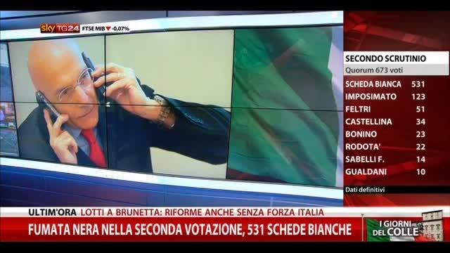 Quirinale, voti anche per Totti e la Ferilli