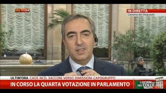 Quirinale, il commento di Maurizio Gasparri (Forza Italia)