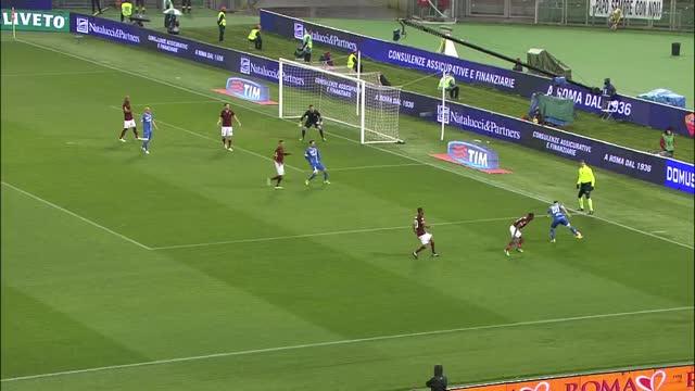 Roma-Empoli 1-1