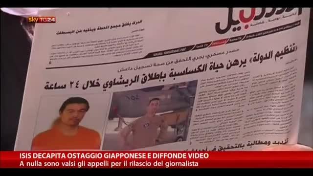 Isis decapita ostaggio giapponese e diffonde video
