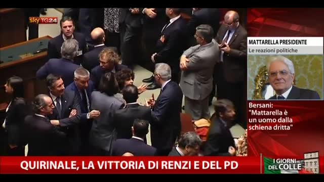 Quirinale, la vittoria di Renzi e del PD