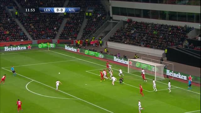 Bayer Leverkusen-Atletico Madrid 1-0