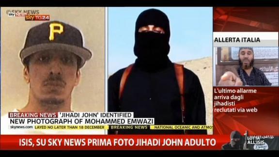 Isis, su Sky News prima foto Jihadi John adulto
