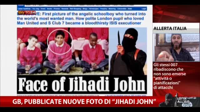 "GB, pubblicate nuove foto di ""Jihadi John"""