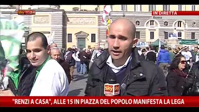 Manifestazione Lega, blindato il centro della Capitale