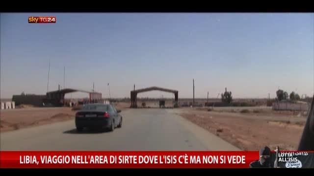 Libia, viaggio nell'area Sirte dove Isis c'è ma non si vede