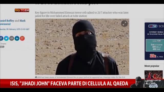 "Isis, ""Jihadi John"" faceva parte di cellula Al Qaeda"
