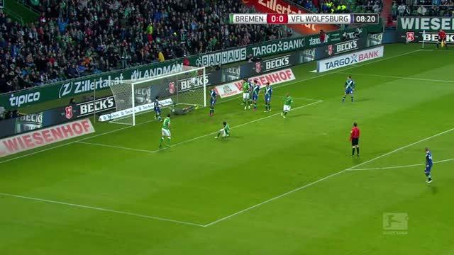 Werder Brema-Wolfsburg 3-5