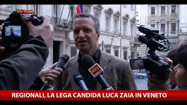 Regionali, la Lega candida Luca Zaia in Veneto