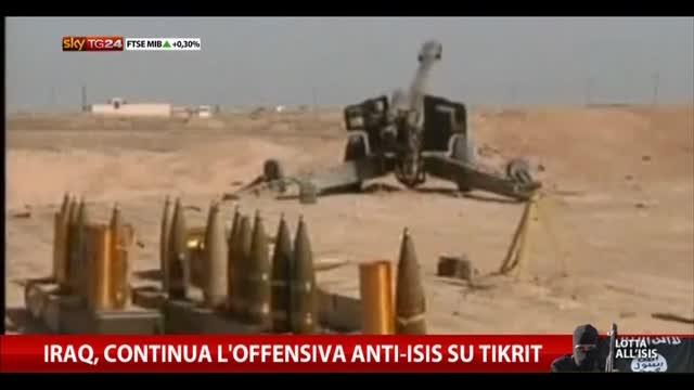 Iraq, continua l'offensiva anti-Isis su Tikrit