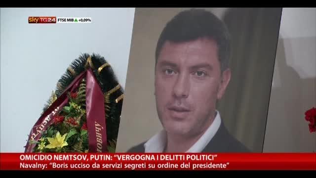 "Omicidio Nemtsov, Putin: ""Vergogna i delitti politici"""