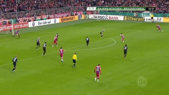 Bayern Monaco-Eintracht Braunschweig 2-0