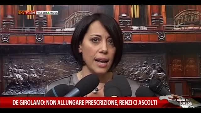 Anti-corruzione, prescrizione: parlano De Girolamo e Ravetto