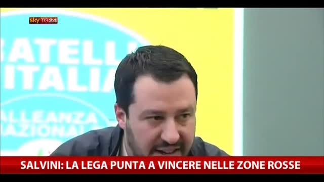 Salvini: la Lega punta a vincere nelle zone rosse