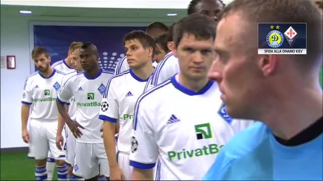 La Fiorentina lancia la sfida alla Dinamo Kiev