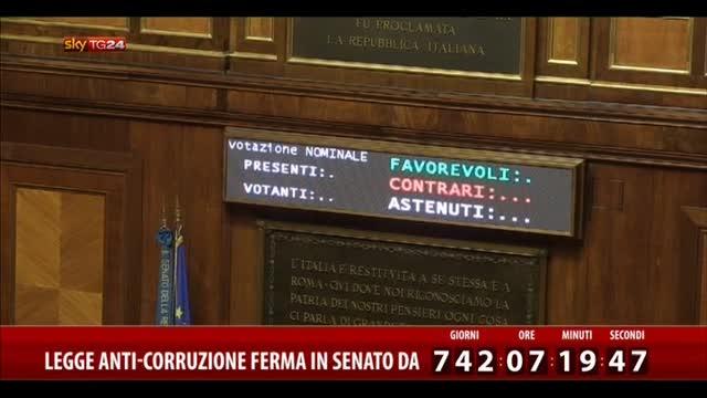 DDL Anticorruzione, verso l'approvazione in Senato