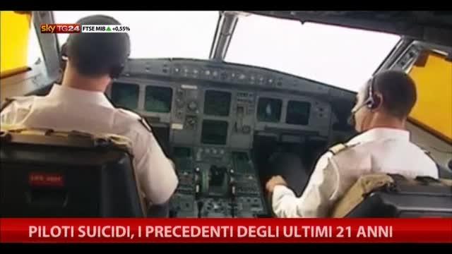 Piloti suicidi, i precedenti degli ultimi 21 anni