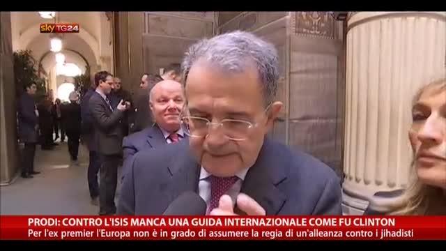 Prodi: contro Isis manca guida internazionale come Clinton