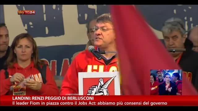 """Landini: """"Renzi peggio di Berlusconi"""""""