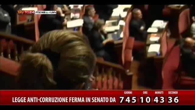 Legge anti-corruzione ferma in Senato da 745 giorni