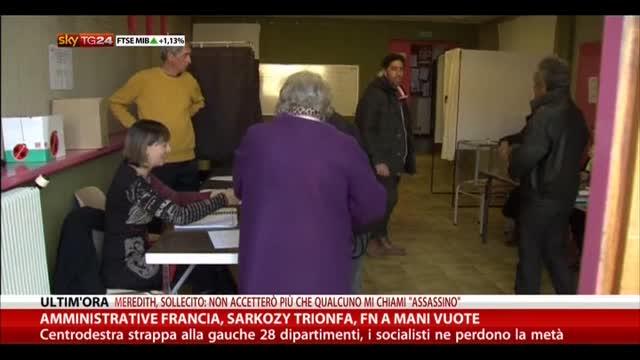 Amministrative Francia, Sarkozy trionfa, FN a mani vuote