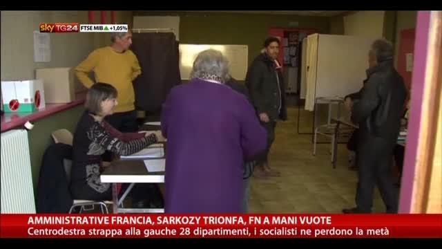 Amministrative Francia: Sarkozy trionfa, FN a mani vuote