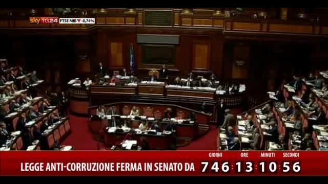 DDL anticorruzione, Senato prossimo all'approvazione