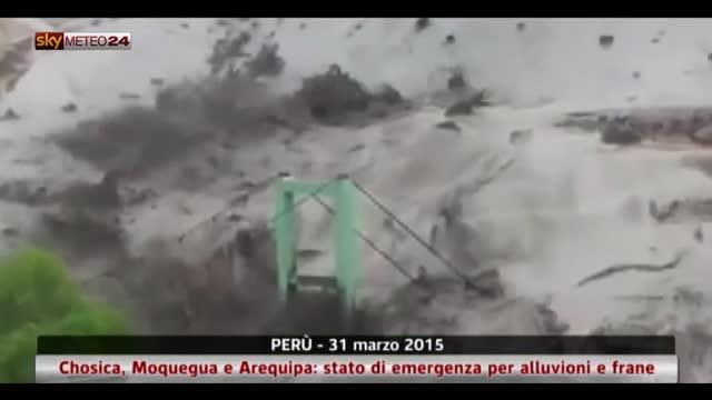 Chosica, Moquegua e Arequipa: emergenza alluvioni in Perù