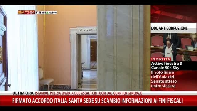 Accordo Italia-Vaticano scambio
