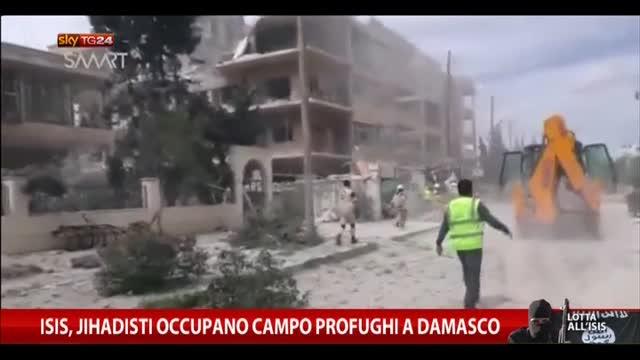 ISIS, jihadisti occupano campo profughi a Damasco