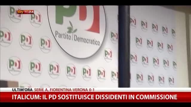 Italicum, il PD sotituisce i dissidenti in commissione
