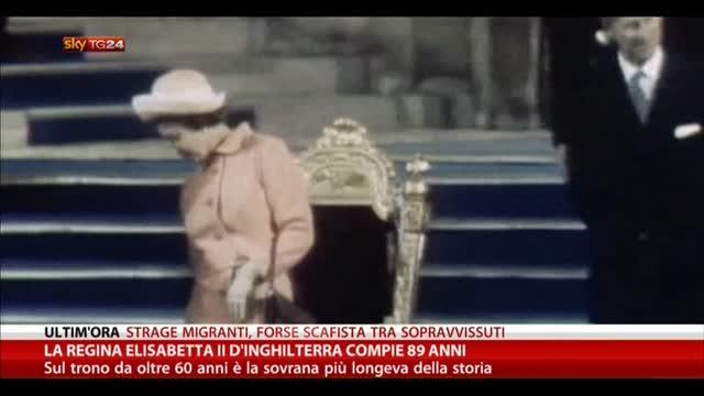 La regina Elisabetta II d'Inghilterra compie 89 anni