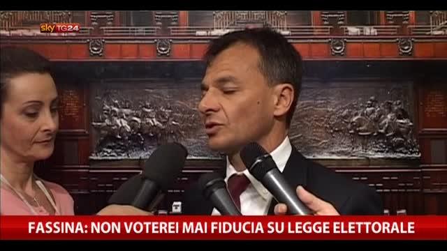 """Fassina: """"Non voterei mai fiducia su legge elettorale"""""""