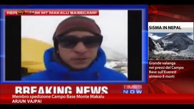 Terremoto Nepal, prima testimonianza dall'Everest
