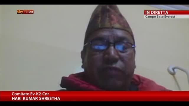 Sisma Nepal provoca valanga Everest. Diretta dal campo base