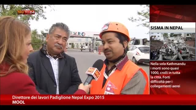 Sisma Nepal, direttore lavori Expo: il mondo ci aiuti