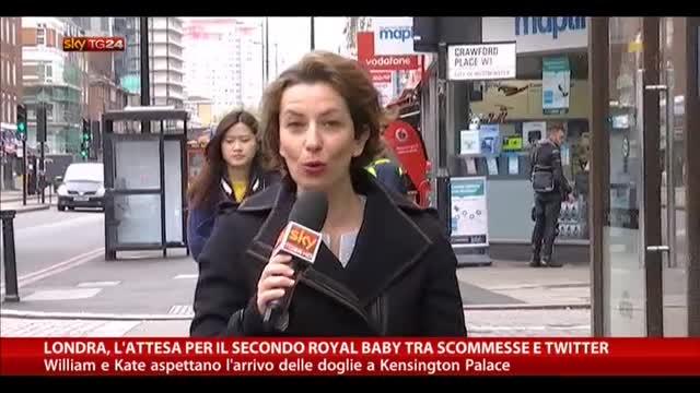 Londra, atteso il secondo Royal Baby tra scommesse e twitter