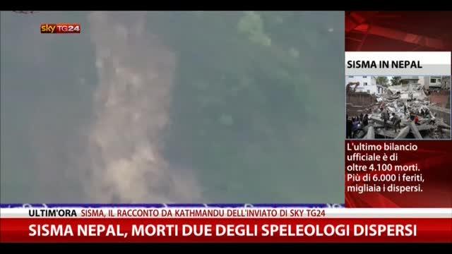 Sisma Nepal, morti due degli speleologi dispersi