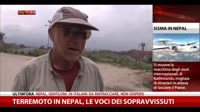 Terremoto in Nepal, le voci dei sopravvissuti